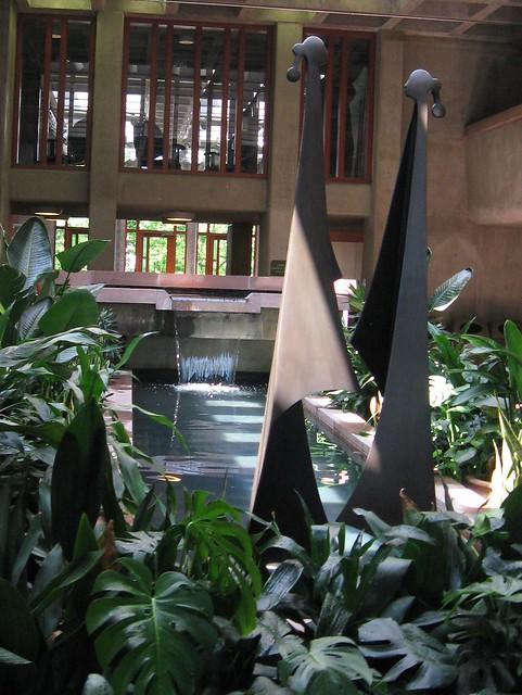 Gates Garden Court Gallery in the Boettcher Memorial Center