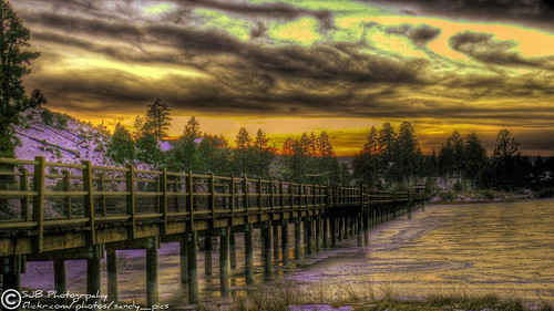 california bear ca bridge sunset sky lake snow color ice clouds frozen big dramatic neverending lifebeautiful