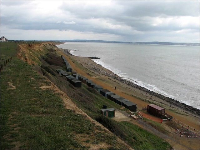 Cliffs between Barton-on-Sea and Milford-on-Sea
