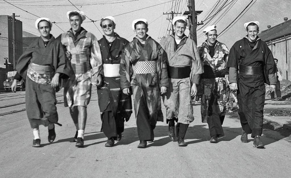 Sailors on Shore Leave