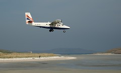 Landing at Barra Airport | by geospace
