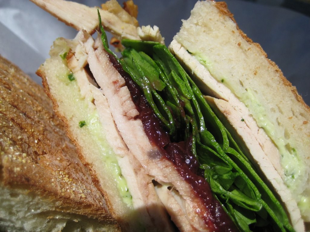 turkey breast sandwitch