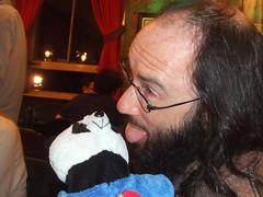 Professor Steve Steve makes a new friend