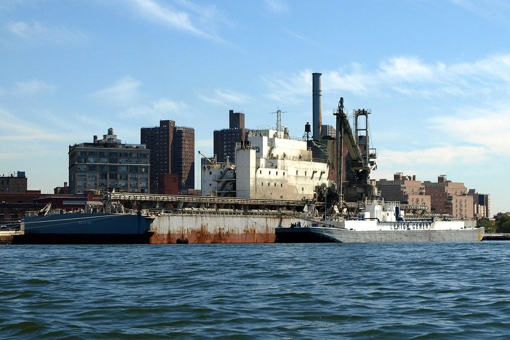 Lehigh Cement Distribution Terminal, Brooklyn Navy Yard, N