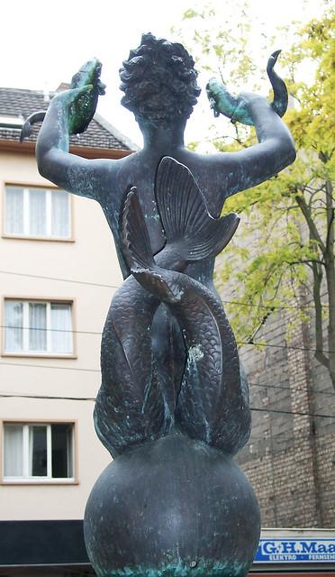 Mainz Fischweiberl-Brunnen Gaugasse