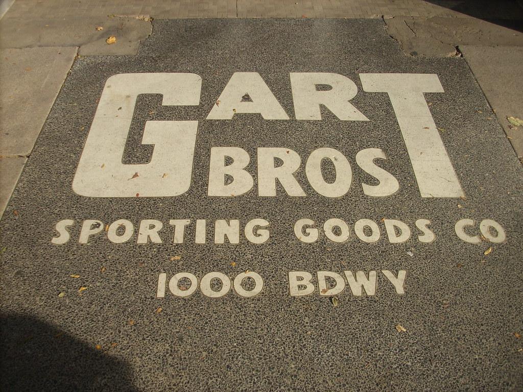 Gart Bros Terrazzo Denver Now A Sports Authority Broadw