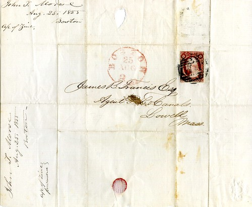 Before email 1:  before envelopes --- 1855 | by gbaku