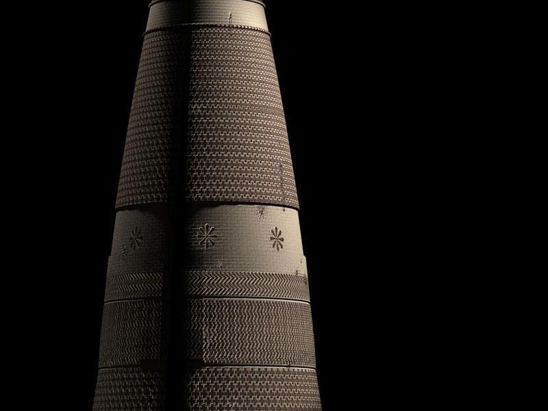 Emin Minaret, Turfan