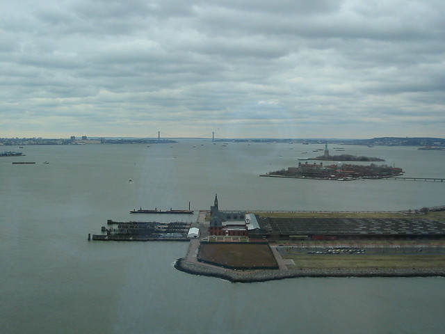 Ellis Island, the Museum and the Statue of Liberty