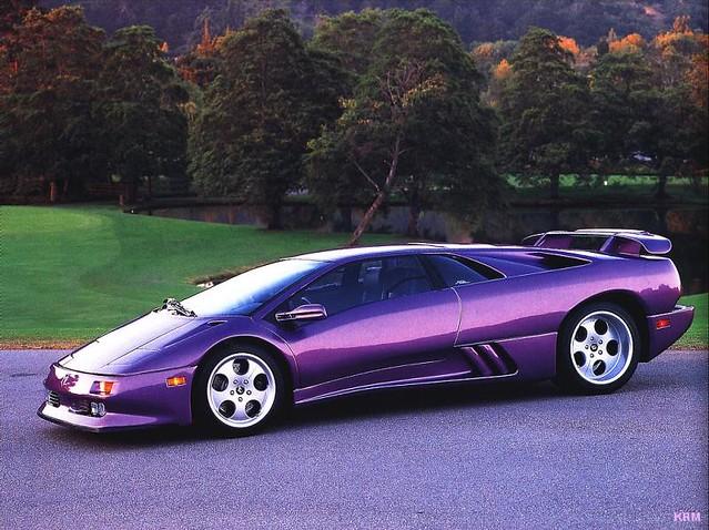Lamborghini Diablo 1990 >> 1990 S Lamborghini Diablo I Ve Never Seen A Violet Lambo B
