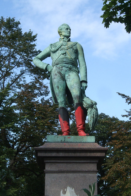 The Duke Of Wellington's Red Boots