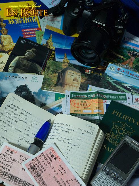 China travel memorabilias