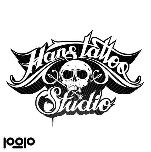Hans Tattoo All Hand Drawn Logo All Rights Reserved