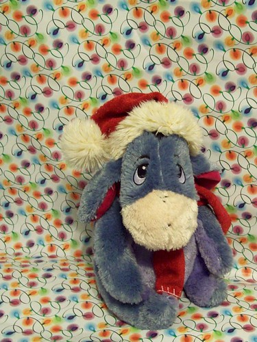 All Eeyore wants for Christmas is Pooh... | by partymonstrrrr