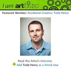 Homepage widget/featured member | by TangerineKlarb