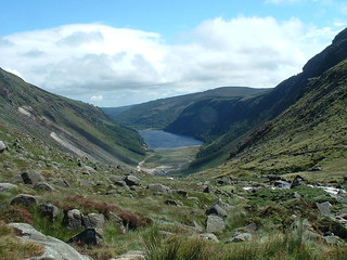 View over Glendalough