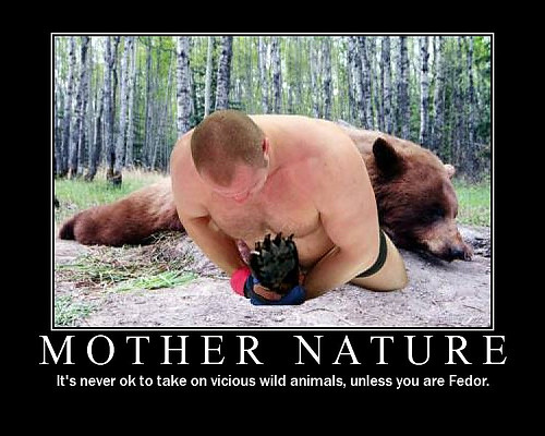 Fedor vs Bear