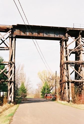 street railroad usa heritage tracks bridges ashland lakesuperior smalltown oredock trestles wsiconsin ashlandcounty
