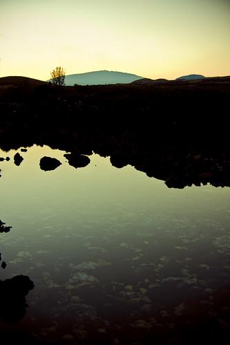 morning water rock sunrise hawaii lava early pond mt peaceful mount makalawena bigisland kona hualalai brakish sarahlee legothenego vivantvie