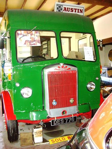 england car museum truck britain yorkshire great coop van albion thorntonledale