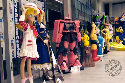 Colourful Characters at Tokyo Anime Center at UDX, Akihabara