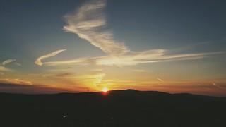 Sunset Ingleborough 2