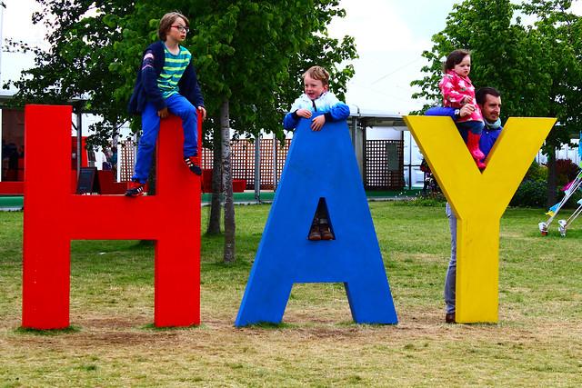 Hay on Wye Festival.