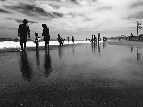 blackandwhite monochrome japan landscape seaside iphone5s
