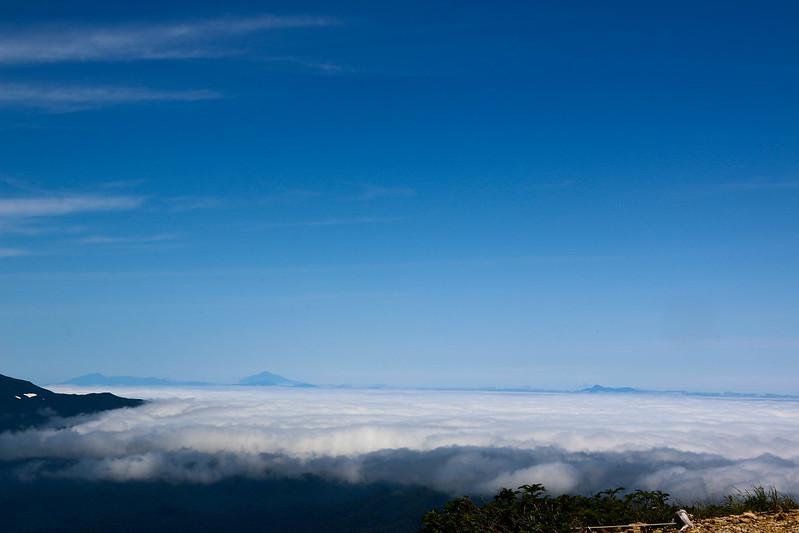 斜里岳から北方領土