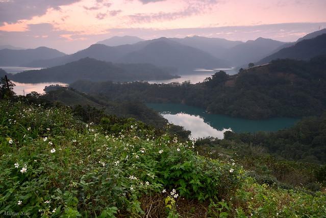 [Lake at Sunset]