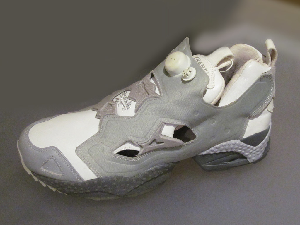 6a5dfebc Reebok | CHANEL. Insta Pump Fury, 1997. Oakland Museum | rocor | Flickr
