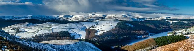 Ladybower Panorama