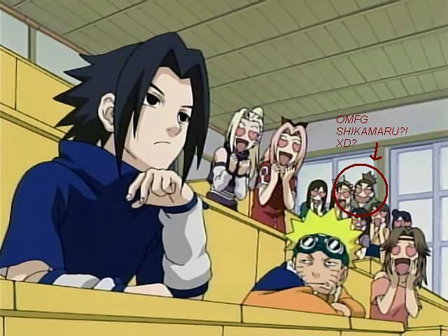 shikamaru's a sasuke fan