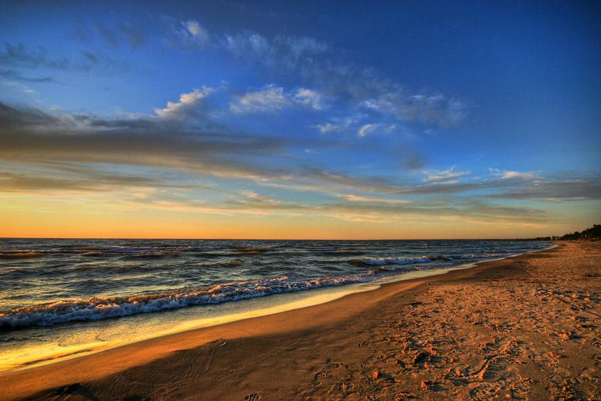 Huron Sunset HDR *