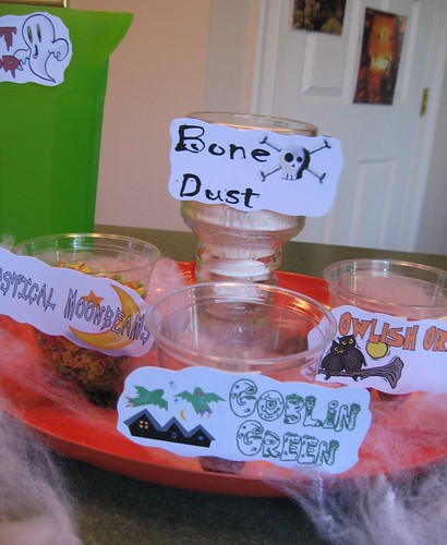 Witches Brew Puddings