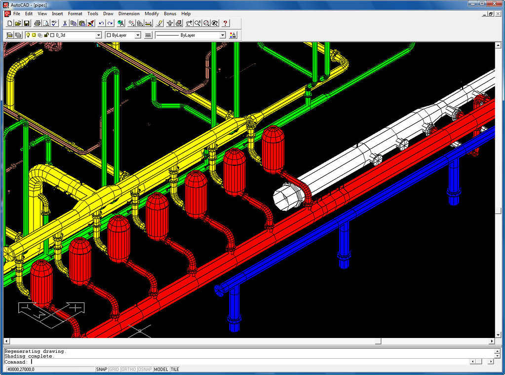 AutoCAD R14 Pipes Sample DWG | Shaan Hurley | Flickr
