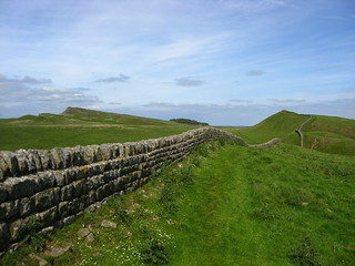 Hadrian's Wall - Housesteads, near Hexham, Northuumberland | by Glen Bowman