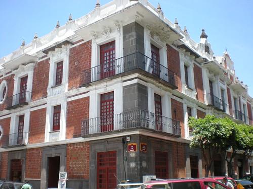 Exconvento de San Andrés Calpan Siglo XVI - Capilla Posa dedicada a San Francisco - Parte Superior - San Andrés Calpan - Puebla - México