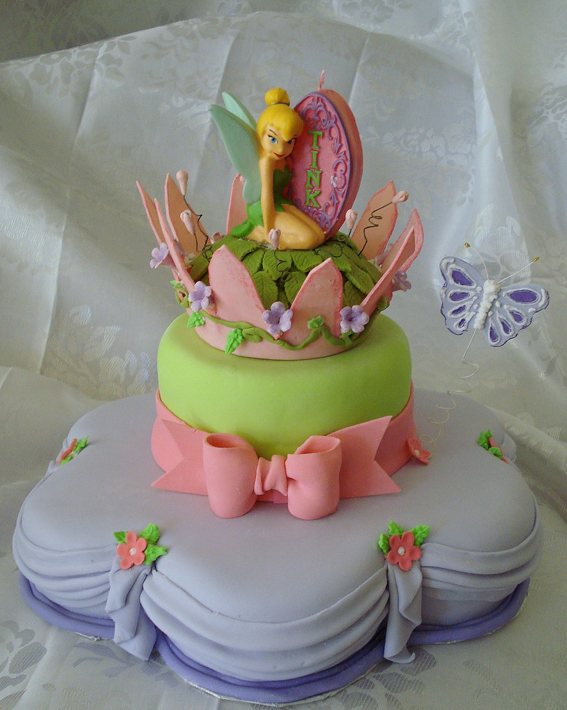tinkerbell cake by Eve Marzan