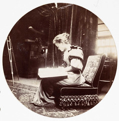 Woman reading   by National Science and Media Museum
