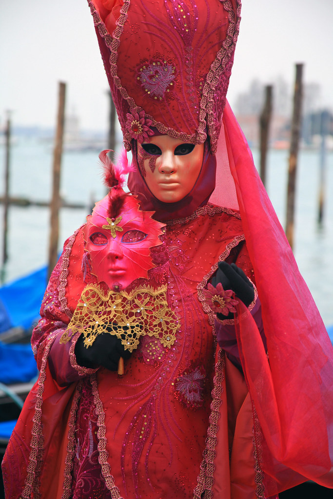Masked character at the 2011 Carnevale in Venice (IMG_2596 ...