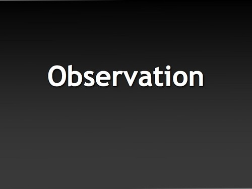 Observation | by cogdogblog