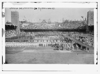 Opening Day, Stockholm Olympic Games  (LOC)