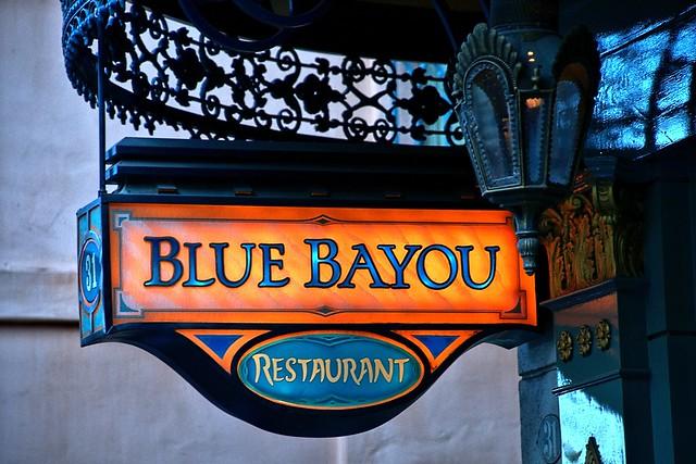 Disney - Blue Bayou Restaurant