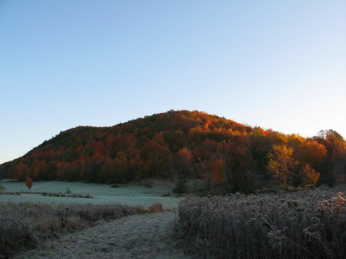 sunrise dawn vermont frost vt poultney eastpoultney