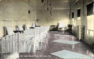 Hospital Ward, Hot Lake Sanatorium