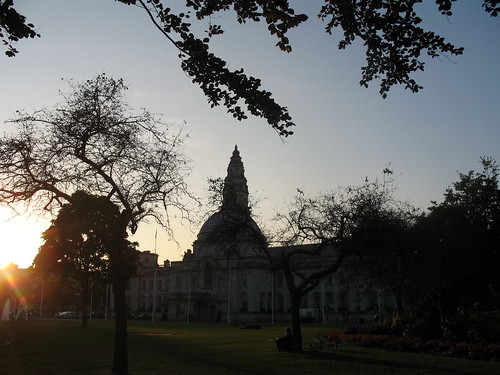 sunset, civic centre 2
