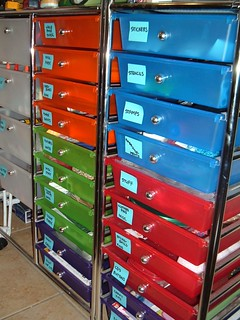 craft drawers | by EvelynGiggles