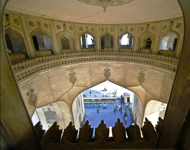 Charminar from the inside