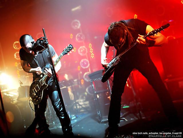 Trent Reznor & Robin Finck | Nine Inch Nails @ Los Angeles 9/6/09